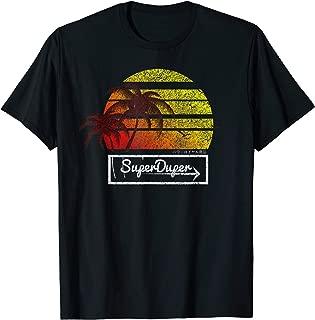 super duper black t shirt