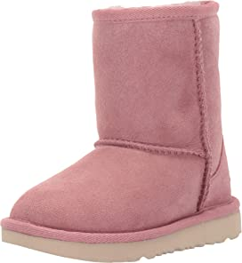 c35a673b095 UGG Kids Classic Short II Patchwork (Toddler/Little Kid) | Zappos.com