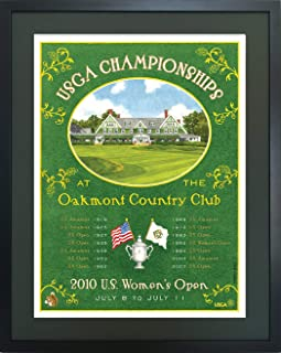 Lee Wybranski Oakmont | 2010 Womens U.S. Open Poster Framed