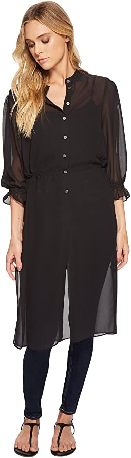Vince Camuto - Chiffon Side Tie Long Tunic