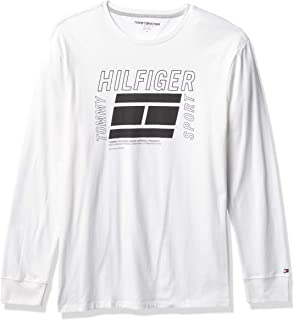 Tommy Hilfiger Men's Sport Long Sleeve Graphic T Shirt