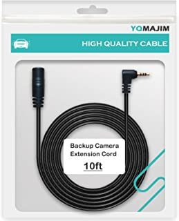 Dash Cam Extension Cable,2.5mm End 10 Ft Extension Cord for Dash Camera, Extend Camera Cable for Rear View Reverse Camera,Mirror Camera,Backup Camera Extension Cable(10ft)