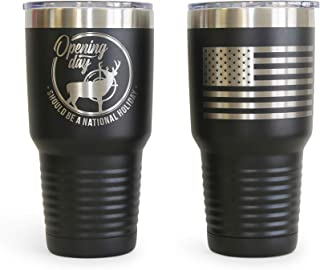 Thomas and Son Designs Deer Hunting Gift 30 oz Stainless...