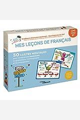 Mes leçons de français CM1, CM2, 6e: 50 cartes mentales pour comprendre facilement la grammaire, l'orthographe et la conjugaison ! Broché
