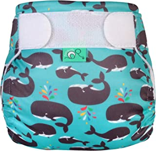 TotsBots Swims - Reusable Washable Baby and Toddler Swim Diaper (Finn, Size 2 20-35lbs)