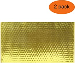 BXI - Soundproofing Sheet - Pipe Noise Wrap - Duct Soundproof Barrier - Self-Adhesive - 11.4'' X 19.7'' X 0.08'' (2 PACK)