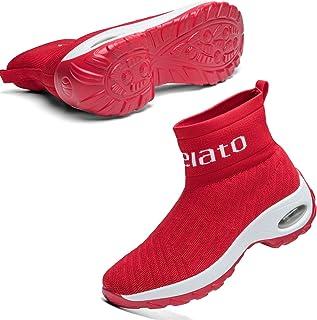 Womens Walking Shoes Slip on Mesh Air Cushion Comfort...