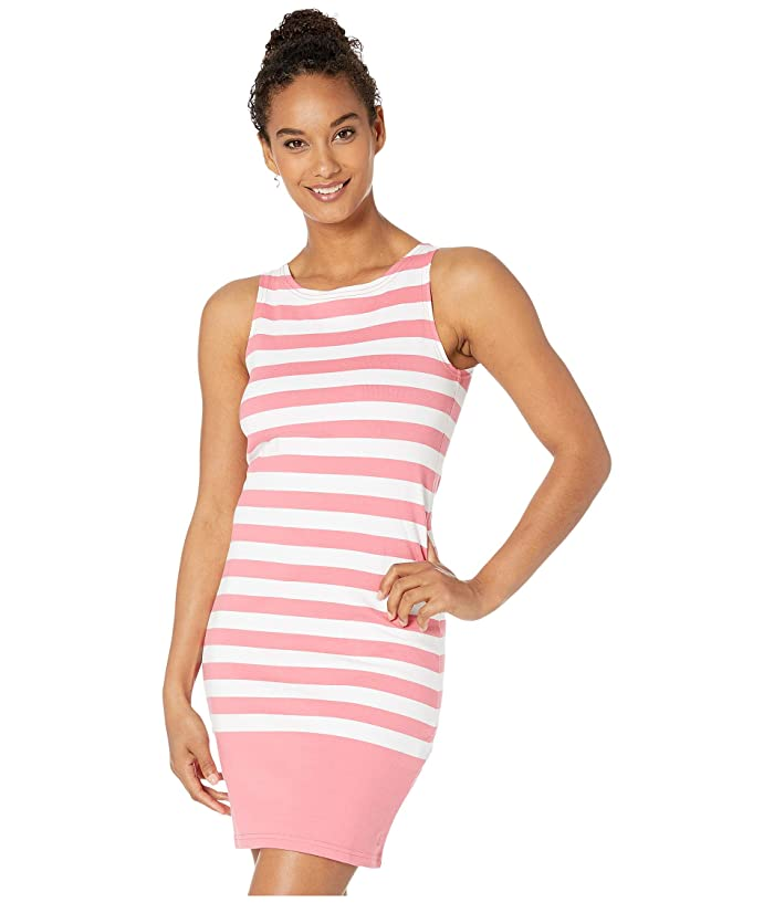 Joules Riva (Pink/White Stripe) Women