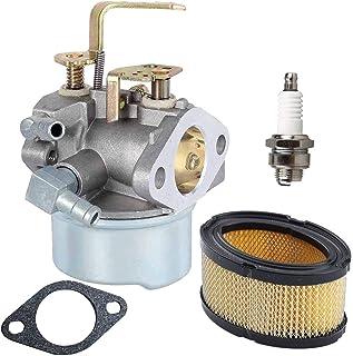 New 640152 Carburetor + 33268 Air Filter+ Spark Plug for Tecumseh 640152A 640023 640051 640140 640152 HM80 HM90 HM100 8-10...