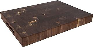 Wood Welded End Grain Reversible Butcher Block Cutting Board 3½