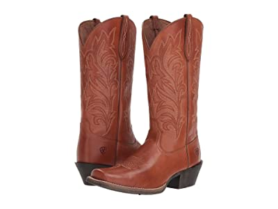 Ariat Round Up Stockyards (Naturally Rich) Cowboy Boots
