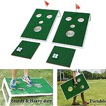 SPRAWL Indoor/Outdoor Golf Cornhole Game Set Board Golf Sport Game Mini Golf Practice Training Ideas