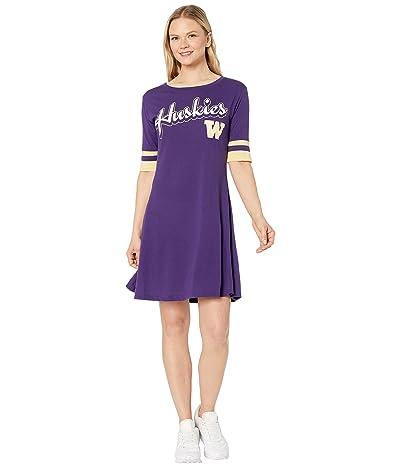 Champion College Washington Huskies Field Day Dress (Ravens Purple/Vegas Gold) Women