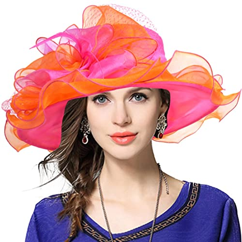 fe7b4334 VECRY Women's Church Derby Dress Fascinator Bridal Cap British Tea Party Wedding  Hat