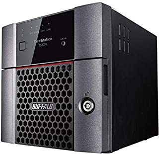 BUFFALO TeraStation 3220DN 4TB 2-Bay NAS Hard Drives Included 2.5GBE