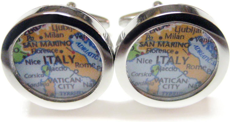 Italy Map Cufflinks