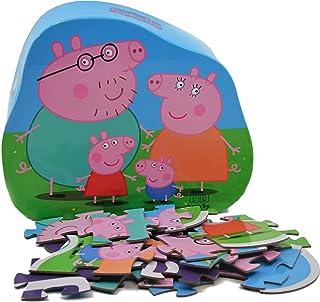 Barbo Toys Puzzle de Peppa Pig Para Niños a Partir de 2 Años Estimula la Memoria y las Habilidades Motoras Contiene 24 Pie...