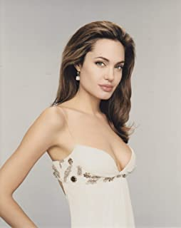 スポンサー広告 - 直輸入、大きな写真、アンジェリーナ・ジョリー、白ドレス...
