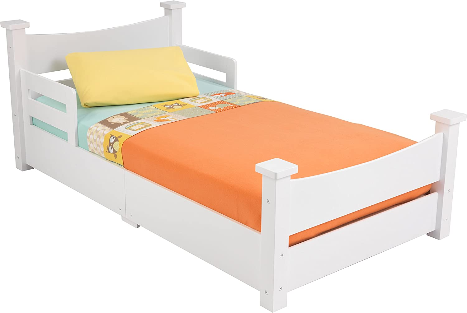 KidKraft Addison Toddler Bed, White