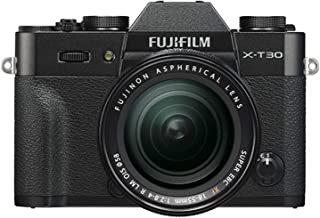 Fujifilm X-T30 Mirrorless Digital Camera w/XF18-55mm Kit - Black