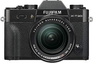 Fujifilm X-T30 Mirrorless Digital Camera w/XF18-55mm F2.8-4.0 R LM OIS Lens - Black