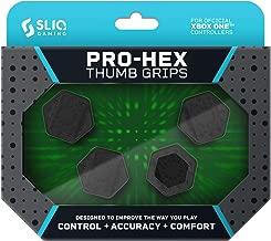 Sliq Gaming Xbox One Pro-Hex Thumb Stick Grips – Xbox One - Black