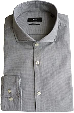 BOSS Hugo Camisa Talla 41 (16), Slim Fit, Soft Line, Forma ...