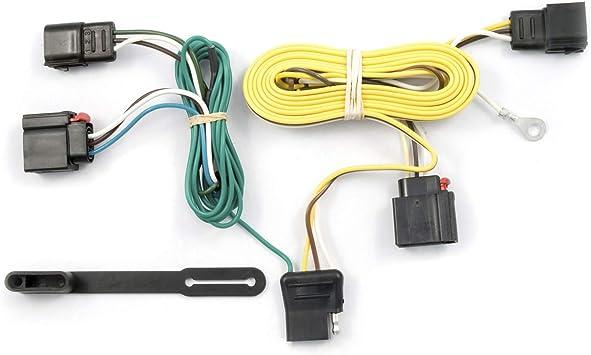 amazon.com: curt 56009 vehicle-side custom 4-pin trailer wiring harness,  fits select jeep grand cherokee : automotive  amazon.com