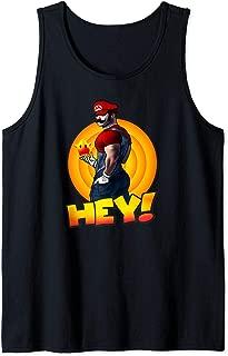 Hey Men Cool Bear T-shirt Gym workout apparel Tank Top