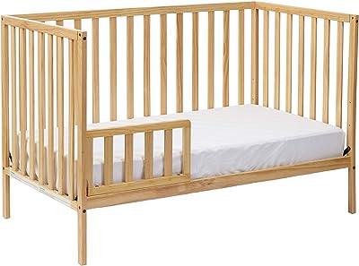 Suite Bebe Palmer 3 in 1 Convertible Crib Natural - Quick Ship