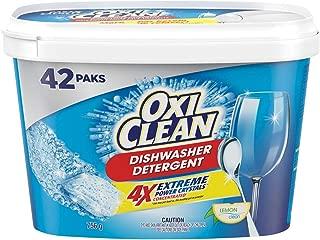 OxiClean Dishwasher Detergent, Lemon Clean, 42 Count