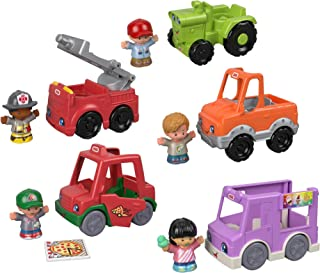 Fisher-Price Little People Around The Neighborhood Vehicle Pack [Amazon Exclusive]