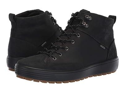 ECCO Soft 7 Tred GORE-TEX(r) High (Black/Black) Men
