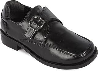 Liberty 男孩/儿童真皮 Gliders 校服正装鞋