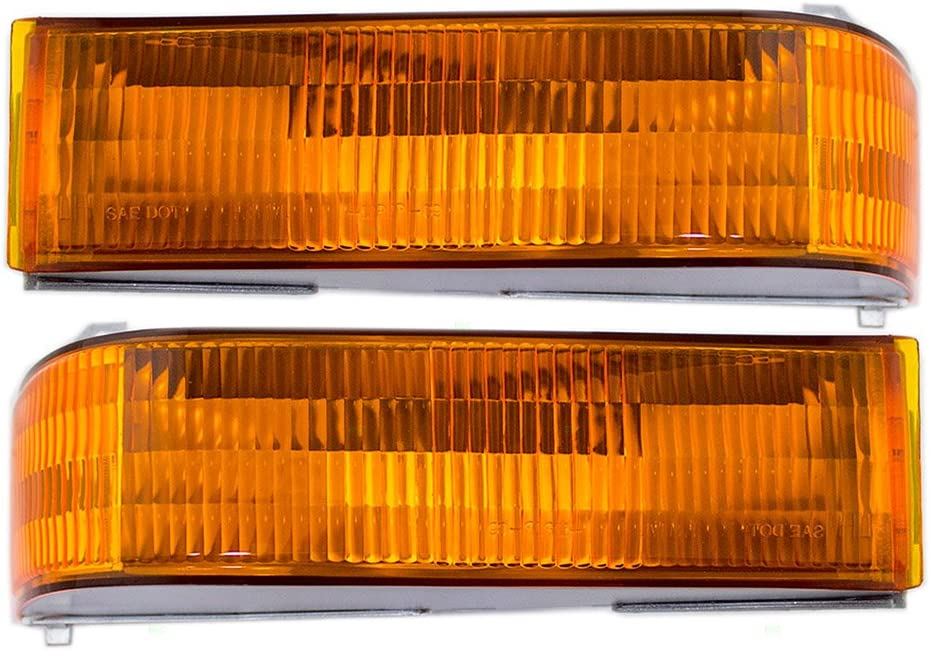 Driver Max 53% OFF and Passenger Park Signal Lights 25% OFF Marker Front Repla Lamps