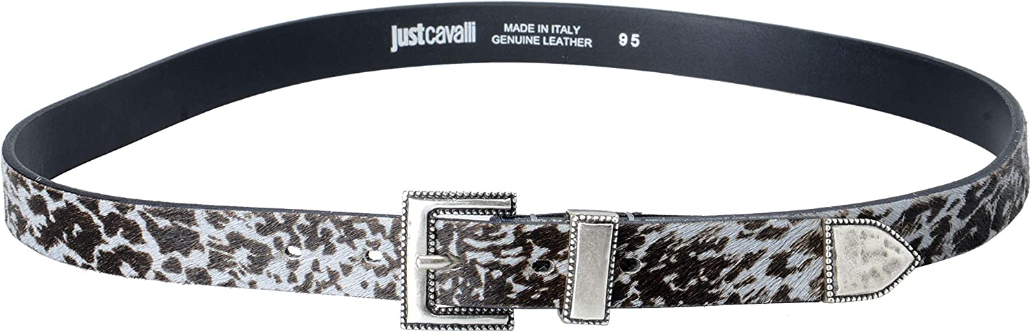 Just Cavalli 100% Leather Multicolor Women's Belt US 30 IT 95