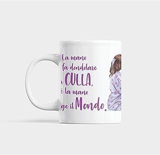 Gadget tazza personalizzata: Mai sottovalutare una donna di nomeMonica Anche come idea regalo originale e simpatica tisana Adatta per colazione caff/è the cappuccino Tazza Monica divertente