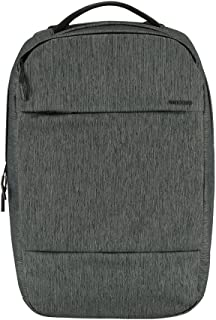 Incase City Collection Compact Backpack, Heather Black/Gunmetal Gray, One Size