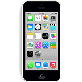 Apple iPhone 5C 8GB Factory Unlocked GSM Cell Phone - White