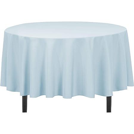 Wedding Tablecloths 90 Round Baby Blue Velvet Tablecloth