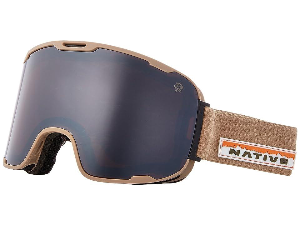 Native Eyewear Treeline (Hawkeye/Rose/Silver Reflex) Snow Goggles