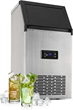 Klarstein Glacial - Machine à glaçons professionnelle, 240 W, PowerCuber : 28 kg/jour de production / 32 cubes par cycle, ...