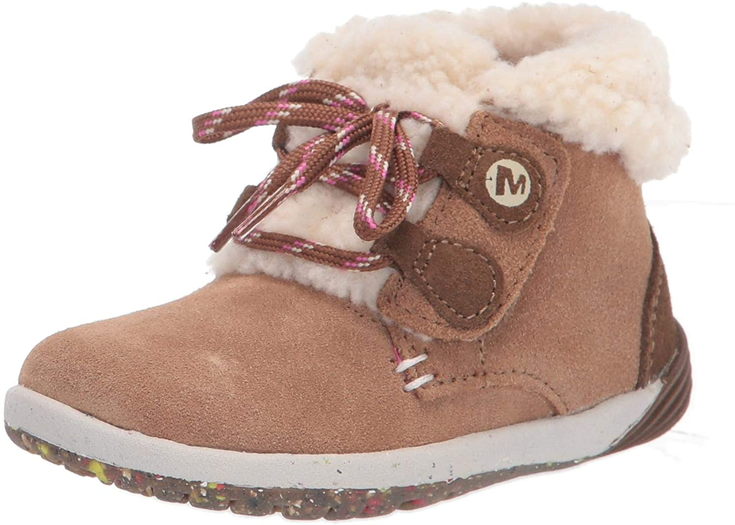 Merrell Outlet sale feature Year-end gift Unisex-Child Bare Steps Cocoa Boot Fashion