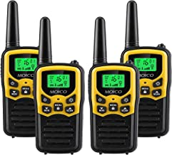 Walkie Talkies Long Range for Adults Two-Way Radios Up to 5 Miles in Open Fields 22 Channels FRS/GMRS VOX Scan LCD Display...