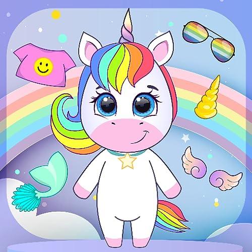 O Unicornio De Chibi Veste-Se De Criador De Avatar