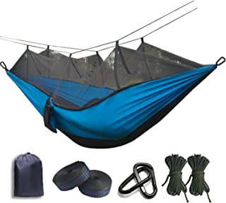 JIA-WALK Ultralight Mosquito net Parachute Hammock with Anti-Mosquito Bites for Outdoor Camping Tent Using Sleeping