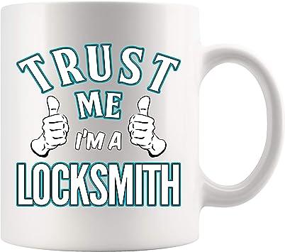 Locksmith Funny Gift Mug shan394