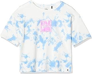 IKKS Junior tee-Shirt Bleu Lavande Youth Camiseta para Niñas