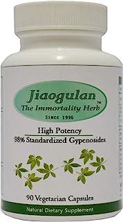 Jiaogulan Capsules, Highest Concentration, Gynostemma Pentaphyllum, Nature's Powerful Adaptogen & Antioxidant, Control Wei...