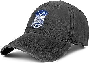 Custom Jeans Baseball Cap for Men Phi Beta Sigma Hat Dad Unisex Adjustable Trucker Caps